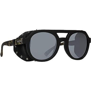 0813c2e8767 VonZipper Psychwig Sunglasses Black Satin Camo Silver Chrome
