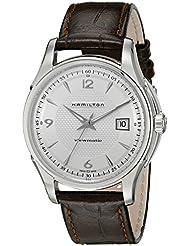 Hamilton Mens H32515555 Jazzmaster Silver Dial Watch