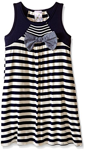 Sleeveless Bow Front Dress - 2