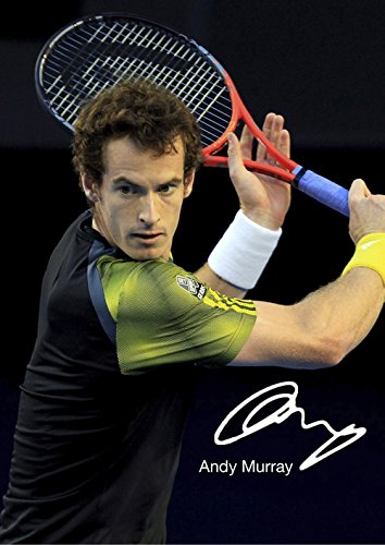 Andy Murray 20 Photo Motivation And Inspiration Tennis Legend Champion Poster