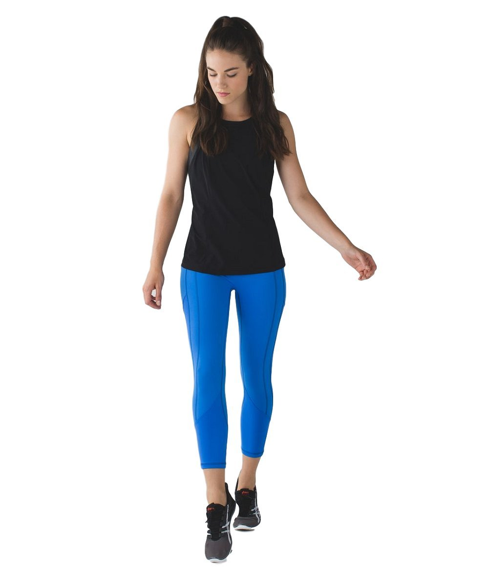 Lululemon - All the Right Places Crop - PDBL/MINZ - Size 4 by Lululemon