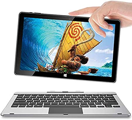 Detachable Keyboard Bluetooth Black 64GB SSD Touchscreen Tablet Packard Bell airBook 11.6 2-in-1 Laptop with Charging Dock Quad-Core Processor Android 9 WiFi Webcam Stereo Speakers 2GB RAM