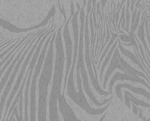 JP London MD3A044 8.5-Feet High by 10.5-Feet Wide Removable Z Tattoo Zebra Full Wall Mural