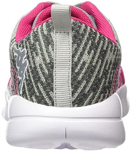 Ginnastica Grigio da Pink Grey Kappa Scarpe Basse Coach Unisex 1622 Adulto tTZw0xfqcw