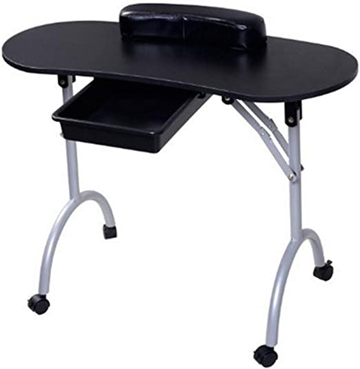 Mesa Plegable de uñas portátil para el hogar móvil para Coche de ...