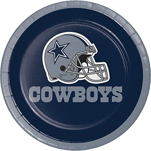 Dallas Cowboys Dessert Plates, 24 ct -