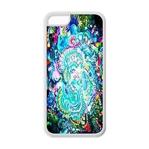 iPhone 5c Case - Trippy iPhone 5c TPU Designer Case Cover Protector