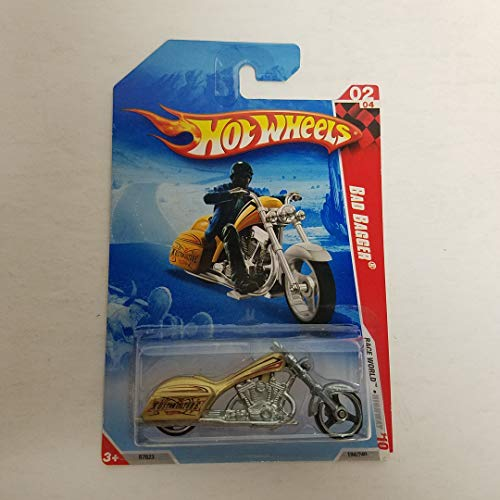 Bad Bagger 2010 Hot Wheels Race World Highway diecast car No. 194