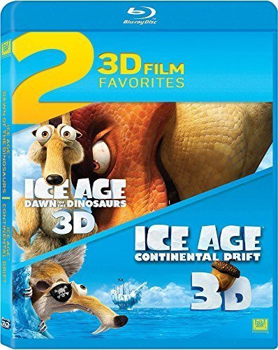 Ice Age 3 / Ice Age 4 Double Feature [Blu-ray] by 20th Century Fox