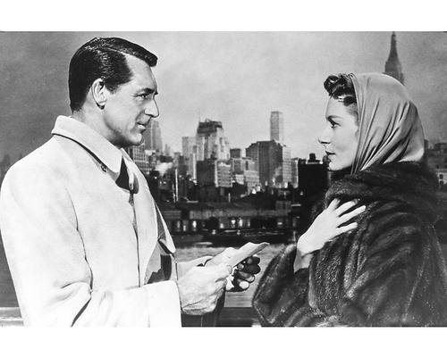 Cary Grant Ingrid Bergman Empire State Building Affair to Remember 16x20 Poster -