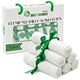 Premium Bamboo Washcloths Set Of 6 /100% Organic Bamboo Baby Towels For New Borns And Toddlers, Hypoallergenic And Antibacterial For Sensitive Skin, Soft And Absorbent - For Boys And Girls