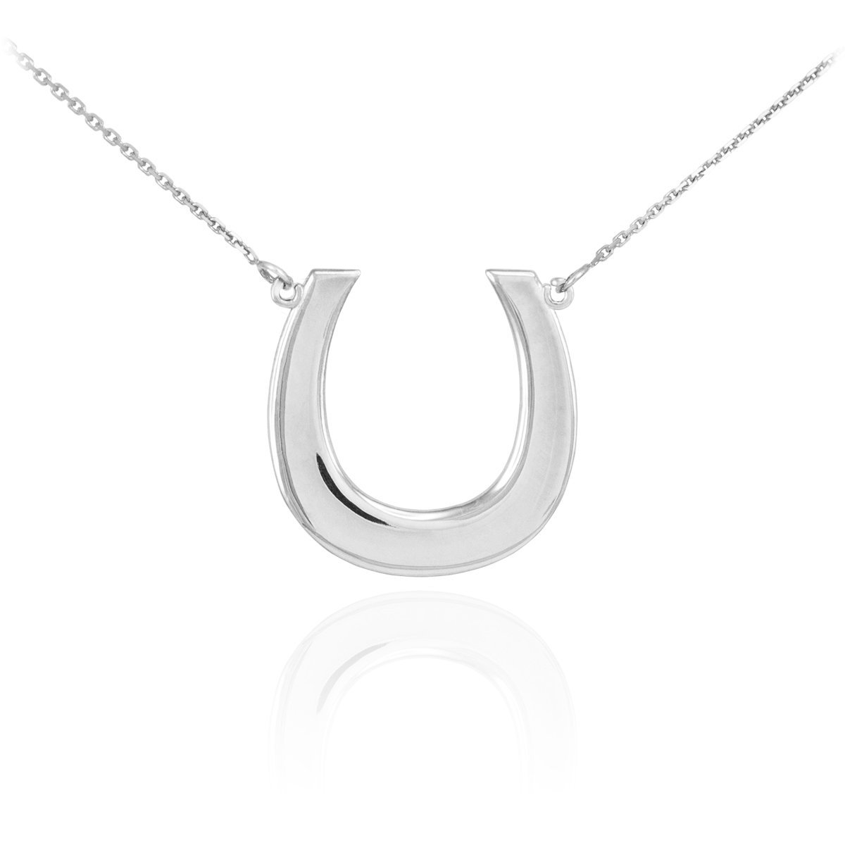 Amazon 925 sterling silver lucky horseshoe pendant necklace 16 amazon 925 sterling silver lucky horseshoe pendant necklace 16 jewelry mozeypictures Gallery