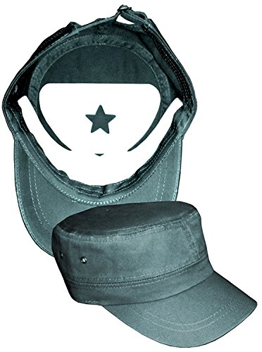 3Pk. Military Hat Crown Half Shaper| Army Cap Shaper| Liner| Hat Storage (Black) by Shapers Image (Image #3)