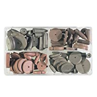 """CRATEX Rubberized Abrasive Introductory Set - Mfr #: #777 Diameter: 5/8"""",7/8"""",1"""",1/4"""",9/32"""",3/8"""" Length: 7/8"""",1"""",5/8"""" Package Qty: 76"""