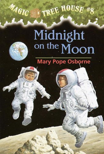 Magic Tree House #8: Midnight on the Moon: Magic Tree House Series, Book 8 (A Stepping Stone Book(TM))