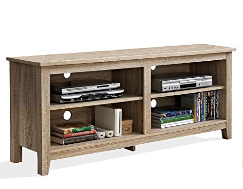 New 58'' Modern Tv Console Stand - Natural Finish by Home Accent Furnishings (Image #2)