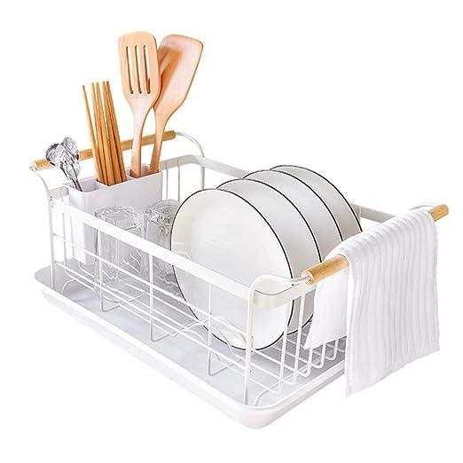 Titular de la cocina Tenedor Cuchara Palillos Caja Rack de almacenamiento de plato de rack de drenaje de fregadero