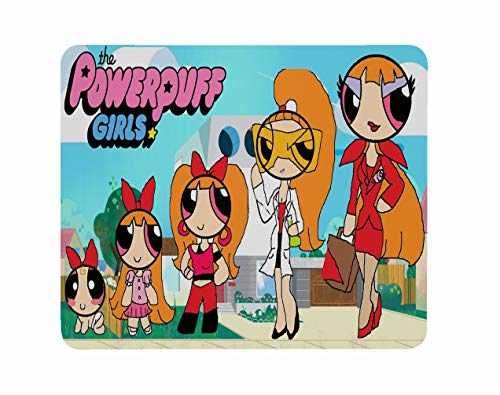 Mousepad Mat Mouse Pad Power Girls Superhero Animated Television Series Christmas Halloween Birthday Kids Gift