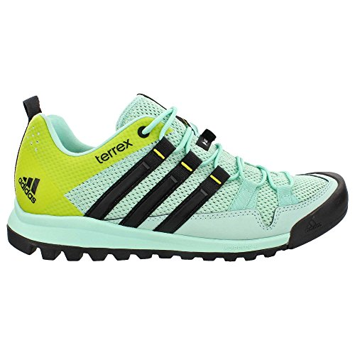 adidas Outdoor Women's Terrex Solo Ice Green/Black/Vapour Steel Athletic Shoe AQ4118-7