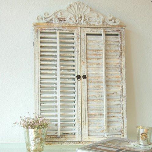 Charmanter Landhaus Wandspiegel Mit Fensterläden,Spiegel, French, Shabby,  Vintage, Antik: Amazon.de: Küche U0026 Haushalt