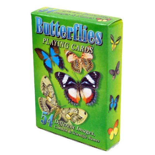 Butterflies Playing Cards - Deck of 54 Cards - Moth Common Card