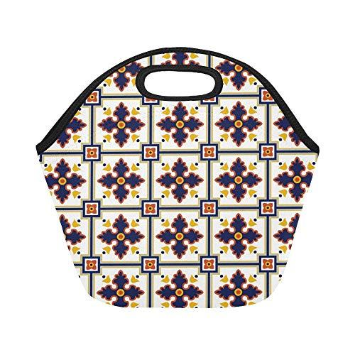 insulated neoprene lunch bag spanish
