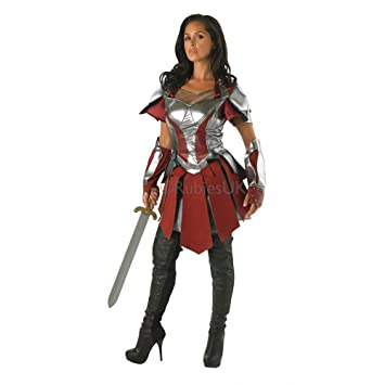 AVENGERS - ASSEMBLE ~ Sif (Thor 2) - Adult Costume Lady XS (  sc 1 st  Amazon UK & AVENGERS - ASSEMBLE ~ Sif (Thor 2) - Adult Costume Lady: XS (UK:6-8 ...