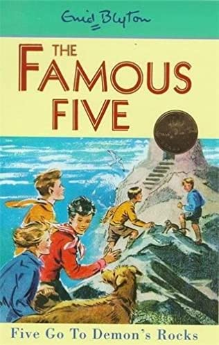 book cover of Five Go to Demon\'s Rocks