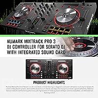 Numark Mixtrack Pro 3 - Controlador USB DJ- con serato ...