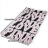 XIAOTIAN Victoria Secret Love Pink Towel