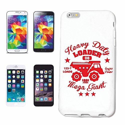 caja del teléfono iPhone 7S RESISTENTE PALA DE MEGA GIGANT CARRO TRANSPORTADOR Camiones Construcción de un vehículo del COCHE DE COCHE de EE.UU. Mucle CAR V8 RUTA 66 AMERICA EE.UU. Caso duro de la c