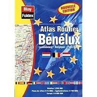 Atlas routiers : Benelux (légende en 4 langues et avec un index)