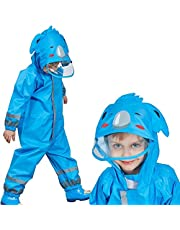 2–9 år gammal vattentät regnrock för barnbyxor regnrock barn regndräkt utomhus pojke flicka regnrock för barn