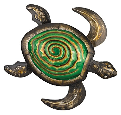 Regal Art &Gift Bronze Sea Turtle Wall Decor, 18-Inch
