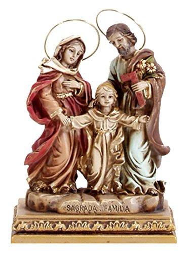 Joana Darque Estatua Decorativa, Marfinite, Marró n, 17.00x12.00x12.50 cm Marrón JD711