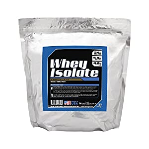 Whey Protein Isolate by Muscle Research - Chocolate, 2.2lbs