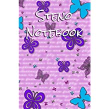 Steno Notebook: Gregg Ruled Paper - 6x9 100 pages (2)