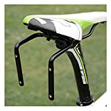 Bicycle Seat Post Double Water Bottle Holder Black Bottle Cage Rack