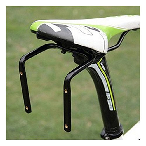 ECYC Bicycle Seat Post Double Water Bottle Holder Black Bottle Cage -