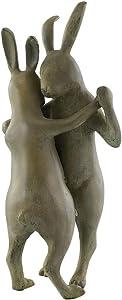 First Dance Garden Sculpture Rabbit Couple