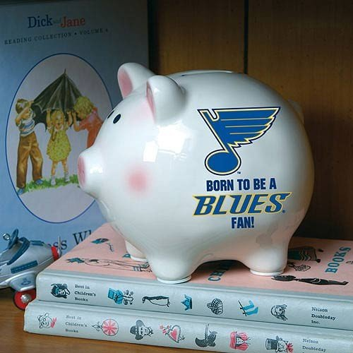 NHL Born to be Piggy NHL Team: St. Louis Blues
