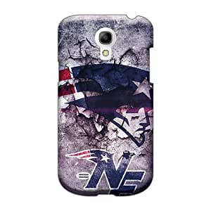 Shockproof Hard Cell-phone Case For Samsung Galaxy S4 Mini (bJQ4006vLxV) Provide Private Custom Colorful New England Patriots Pattern