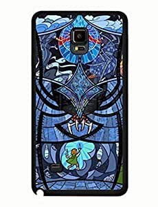 yellow Scarf men For Samsung Galaxy Note 4 Cover Hard Case yiuning's case