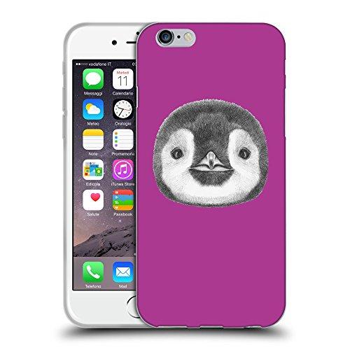 GoGoMobile Coque de Protection TPU Silicone Case pour // Q05310621 Visage pingouin byzantin // Apple iPhone 7