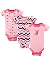 Baby Preemie Bodysuits, 3-Pack
