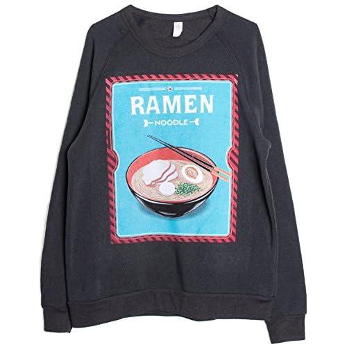 Men S Crew Neck Ramen Noodle Sweatshirt 60 Off Electricien