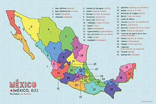 Spanish Language Country Maps for The Classroom - Spain ...