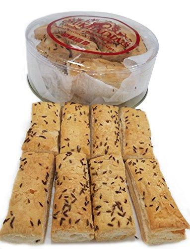 Sukhadia's Indian Snacks, Khari Biscuit/Salty Biscuit/Tea Biscuit, 12oz by Sukhadia's