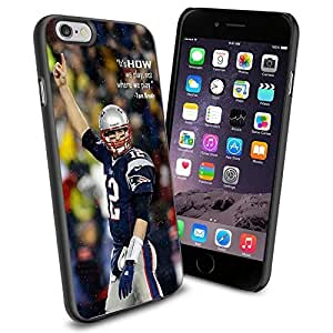 diy zhengNFL New England Patriots Tom Brady , Cool iPhone 6 Plus Case 5.5 Inch Smartphone Case Cover Collector iphone TPU Rubber Case Black