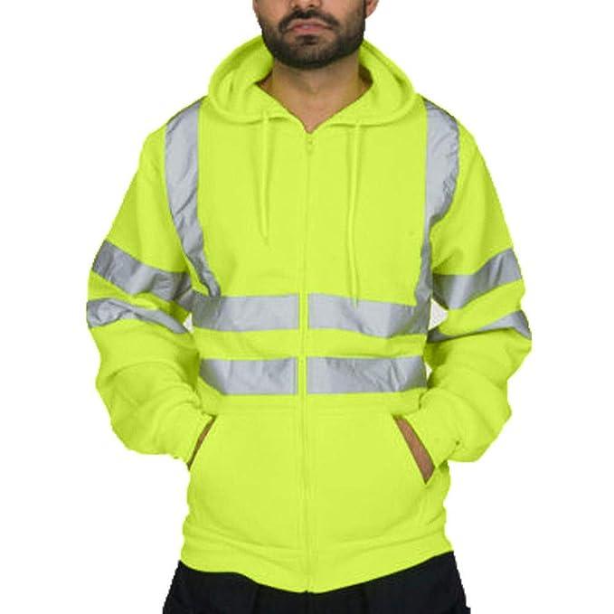 Logobeing Chaqueta Hombre Sudaderas Trabajo Casual Camisas ...